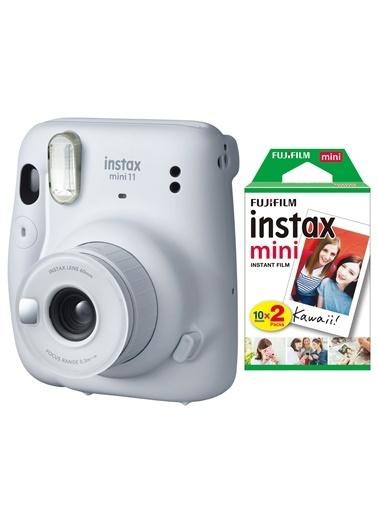 Fujifilm instax mini 11 Beyaz Fotoğraf Makinesi 20li Film Beyaz